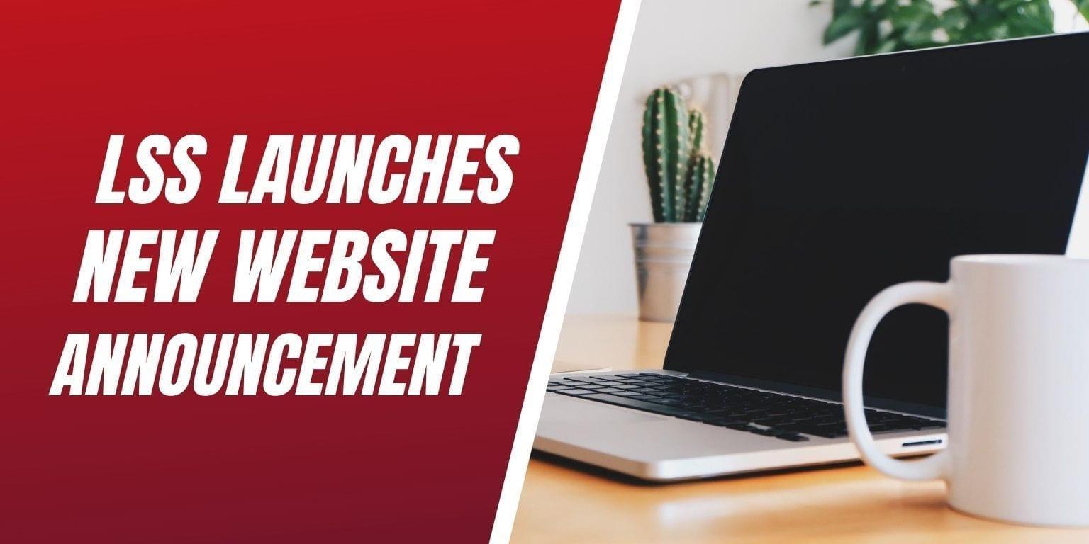 LSS New Website Launch Press Release